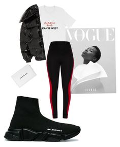 """""""Untitled #177"""" by jordaniagarcia ❤ liked on Polyvore featuring Vetements and Balenciaga"""