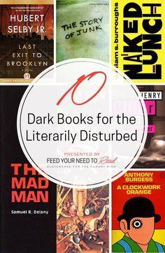 10 Dark Books for the Literarily Disturbed