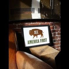 National Park - See America First #buffalojackson