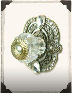 Stunning door knob..want one on all my doors! #doorknobs