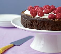 Fourless Chocolate Fudge Torte - ok not sure why dessert looks so good this morning, but it does....