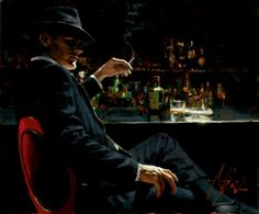 Fabian Perez is an artist born in Buenos Aires, Argentina. As a teenager Fabian was fascinated with martial arts and fine arts. He currently resides in Los Angeles and is known for his paintings of the tango and for his portraits. In 2009 Perez was named the official artist of the 10th annual Latin Grammy Awards.