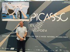 """Exposiçao """"Picasso - Mão erudita Olho selvagem"""" - Instituto Tomie Othake - São Paulo - 13.08.2016"""