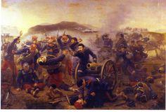 La batalla de Castellfullit, autor: Víctor Morelli. Más en www.elgrancapitan.org/foro