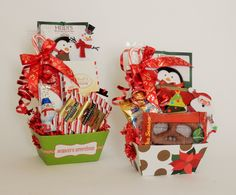 Mini Holiday Snack Gift Baskets Business Profile, Novelty Items, Gift Baskets, Floral Arrangements, Party Favors, Custom Design, Gift Wrapping, Seasons