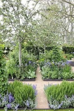 Love this herb garden