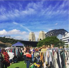Kirribilli Markets are a cult favourite amongst the fashion set. Held twice a month, the second Sunday focuses on fashion, art and design while the fourth Saturday of the month features a bit of everything. Open the second and fourth weekend of the month from 8.30am till 3pm