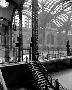 "Berenice Abbott. ""Pennsylvania Station"". 1936. New York, NY, USA."