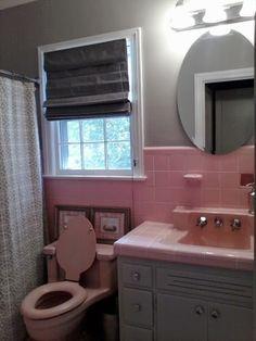 S Bathroom Vanity Bing Images Vintage Bathrooms Pinterest - 1950's style bathroom vanity