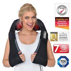 Massagegerät Shiatsu Massage Nackenmassagegerät Schultermassage Rückenmassage
