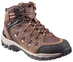 """Ascend Traverse Waterproof Hiking Boots for Men - Dark Brown/Cement - 9 M: """"""""""""Be ready to charge up the… #Fishing #Boating #Hunting #Camping"""