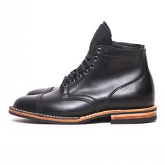 """Viberg """"Andrew Special"""" Service Boot - Stealth"""
