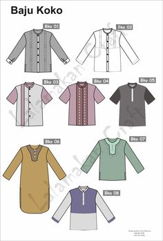 56 Ideas For Sewing Baby Clothes Templates Baby Boy Fashion, Kids Fashion, Fashion Design, Trendy Fashion, Fashion Models, Hijab Fashion, Fashion Outfits, Moslem Fashion, Sewing Baby Clothes