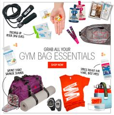 The Gym Bag Essentials you need NOW! | Bulubox.com