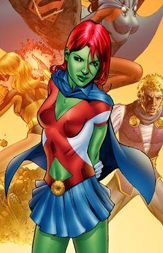 dc comics miss martian | Related Posts : comic books, comics, DC, miss martian, new comic ...