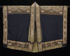 Taoist Priest's Robe (chiang-i)    date: Late 18th century    medium: Embroidered and appliqued satin    location: Asia, China