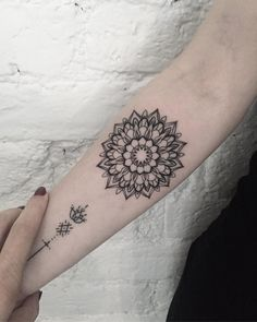 perfect mandala tattoo by dasha_sumtattoo