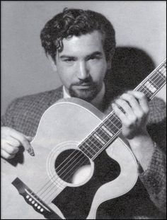 pre-GD Jerry, with guitar and hair gel and beatnik scowl. (Well, semi-scowl.)