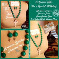 Jewelry Set designed by PineCreekStyle....posted on our FaceBook page! Love, Like & Share....