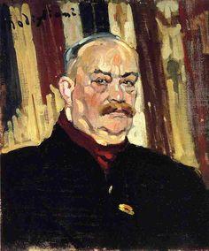 Joseph Levi 1910 | Amedeo Modigliani | Oil Painting #modglianipaintings