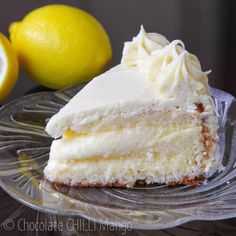 Lemon and White Chocolate Trüffeltorte …with limoncello liqueur ganache