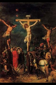 Crucifixion of Christ by Francken
