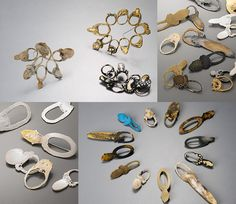 Kyeok Kim - crashed rings (Brooches)