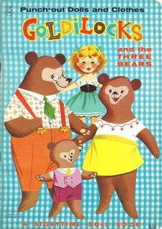 Goldilocks and the Three Bears - Lowes 1964 - Lorie Harding - Picasa Albums Web