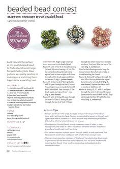 Beaded bead contest - bead 4 - 1/3 - Beading beads