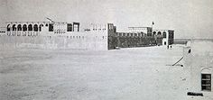 Development, seen from the south, on the site of the Diwan al Amiri in 1945