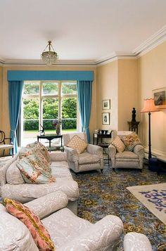The Drawing Room | Milntown House | Isle of Man