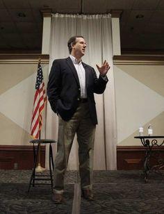 Photo #10 #prezpix #prezpixrs election 2012 candidate: Rick Santorum publication: Los Angeles Times LA Times photographer: Eric Gay AP publication date: 2/27/12