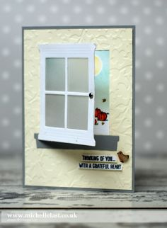 Happy Scenes & Hearth & Home Framelits from Stampin' Up! - with Michelle Last