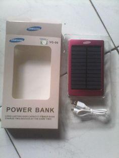Power bank solar (tenaga matahari) beli sekarang