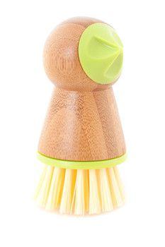 Full Circle Green Tater Mate Potato Brush