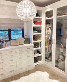 walk in closet ideas organization; small walk in closet ideas; Dressing Room Closet, Closet Bedroom, Bedroom Decor, Dressing Rooms, Master Closet, Dream Closets, Dream Rooms, Luxury Closet, Closet Designs