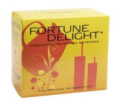 "Fortune Delight®, Raspberry, 10/3g Packs by Sunrider International. $11.88. Quickly refreshes your body without a sugar or caffeine ""crash."". Contains polyphenols, bioflavonoids, and tea catechins.. Supports a healthy lifestyle and any weight-management program.. Replace soft drinks, overly caffeinated energy drinks, and regular tea and coffee with this award-winning ""super beverage."". Similar to Calli® in providing antioxidant benefits, Fortune Delight® is also concent..."