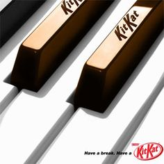 #KitKat piano #adv inspiration of the day.