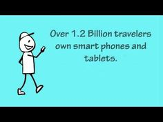 The new face of targeted marketing! 1.2 billion travellers own smart phones and tablets