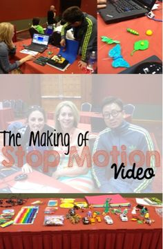 Digital Storytelling with Claymation and StopMotion. Really cool!