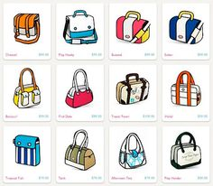 Blow Minds With This Incredible Cartoon Handbag Cartoon Blog - Cartoon handbags