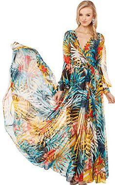 43 City Women's Fashion Bohemian Style Spring Summer Chiffon Long Maxi Skirt Dress  http://www.yearofstyle.com/43-city-womens-fashion-bohemian-style-spring-summer-chiffon-long-maxi-skirt-dress/
