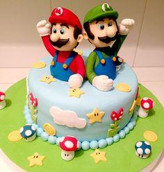Torta Super Mario Bros / Super Mario Bros Cake