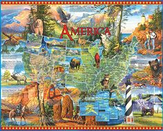 Places In America, I Love America, Puzzle Shop, Great Works Of Art, Historical Art, Aviation Art, The Good Old Days, 1000 Piece Jigsaw Puzzles, National Parks