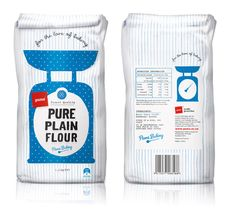 From amidst the scattered flour and delicious smell of cookies and muffins baking, comes the rewarding satisfaction of home baking, shared by many a generation. The Pams Private Label flour range captures this sense of baking nostalgia with familiar baking icons and charming fabrics woven from another time of wisdom and practicality.""