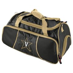 Logo Brands 12 NCAA Athletic Duffel Bag - Vanderbilt