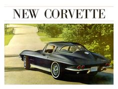 Sketchbook historic cars Pictures: 1963 USA - GM Chevrolet Corvette - An American mas...