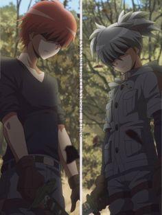 This scene gave me chills. - DA | Carnage Pair | KaruNagi | KaruGisa | Karma Akabane x Nagisa Shiota | Assassination Classroom