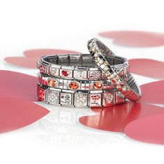 www.nomination.co... www.nomination.com #nominationitaly #jewellery #jewels #bijoux #gioielli #joias #joyas #schmuck #smykke Nomination Bracelet, Nomination Charms, Love Is In The Air, Keep It Simple, Happy Valentines Day, Bracelet Watch, Charmed, Italy, Jewels
