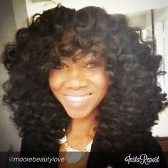 """""""#TeamCrochetBraids ❤️️❤️️❤️️❤️️ Her #MarleyHair curls are FAB!!! Check her out on YT for the how-to on the JovanceSalon channel !!!  By…"""""""